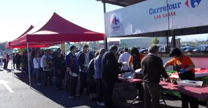 La segunda Champiñonada de Carrefour Las Cañas otro exito
