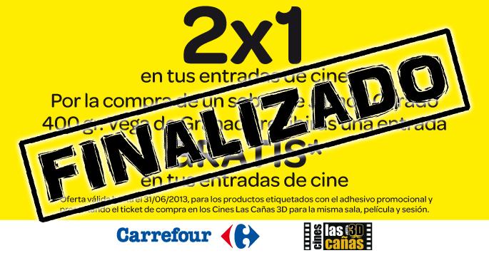 Carrefour y Cines Las Cañas 3D te invitan al cine.