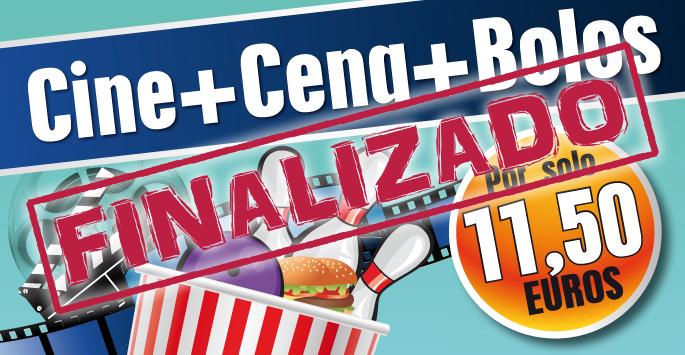 Cine + Cena + Bolos