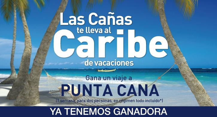 Ganadora de la promoción Las Cañas te lleva al Caribe de vacaciones