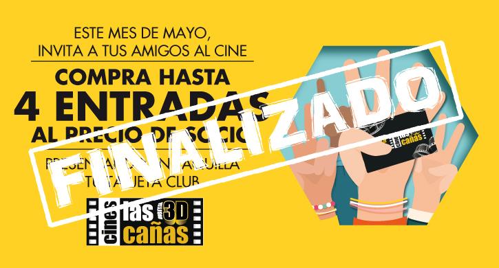 ¡Trae a tus amigos al cine a precio TClub!