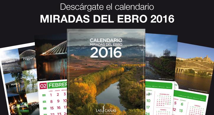 Calendario Miradas del Ebro 2016