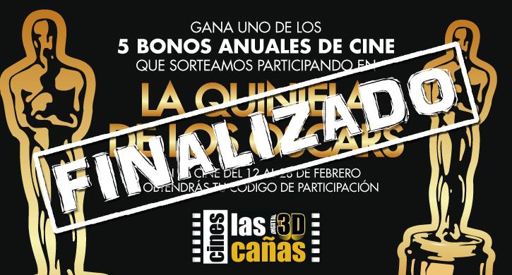 La Quiniela de los Oscars en Cines Las Cañas