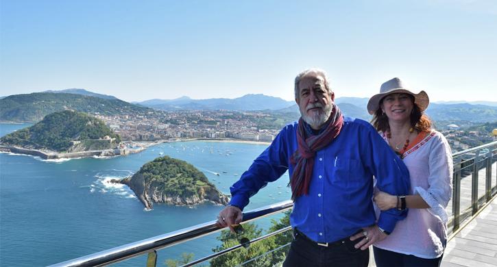 El ganador del premio Desayuna con Diamantes en San Sebastián