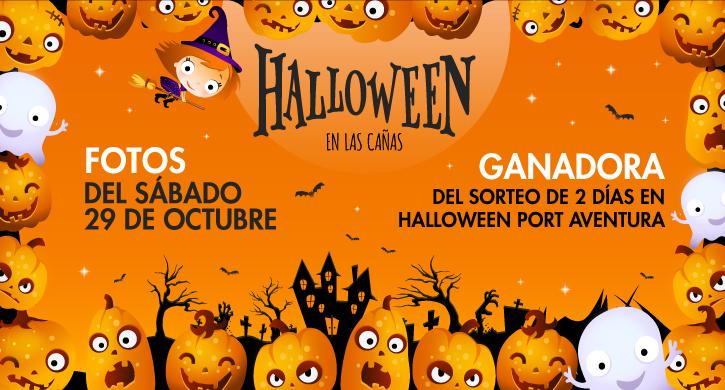 Gran participación en la fiesta de Halloween del Parque Comercial Las Cañas