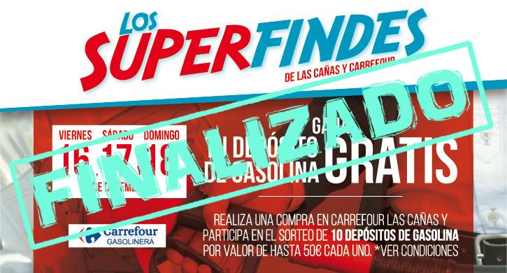 Superfindes Carrefour y Las Cañas, 16, 17 y 18 Diciembre, depósito de gasolina
