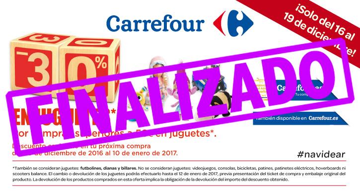 -30% en juguetes Carrefour