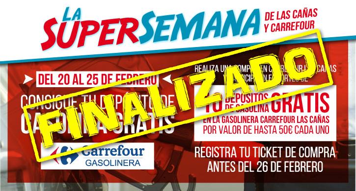 Bases La Super Semana de Las Cañas y Carrefour