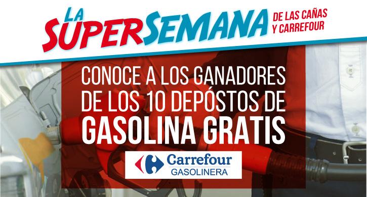 Conoce a los ganadores de los 10 depósitos de gasolina