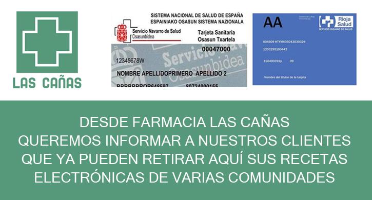 Farmacia Las Cañas ya puede intercambiar recetas electrónicas con otras Comunidades Autónomas