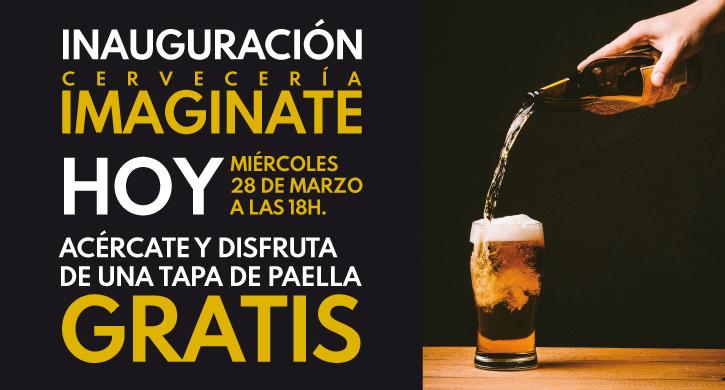 Cervecería Imaginate abre sus puertas en el Parque Comercial Las Cañas