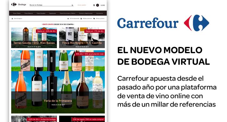 Carrefour apuesta por un nuevo modelo de bodega virtual