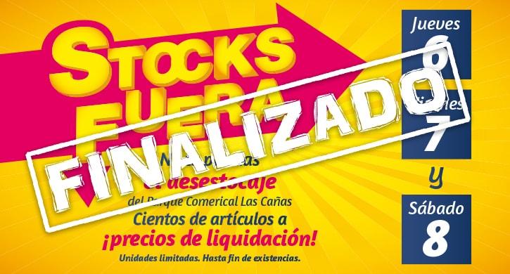 Vuelve a Las Cañas Stocks Fuera