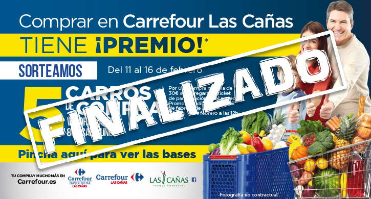 Comprar en Carrefour Las Cañas tiene ¡premio!