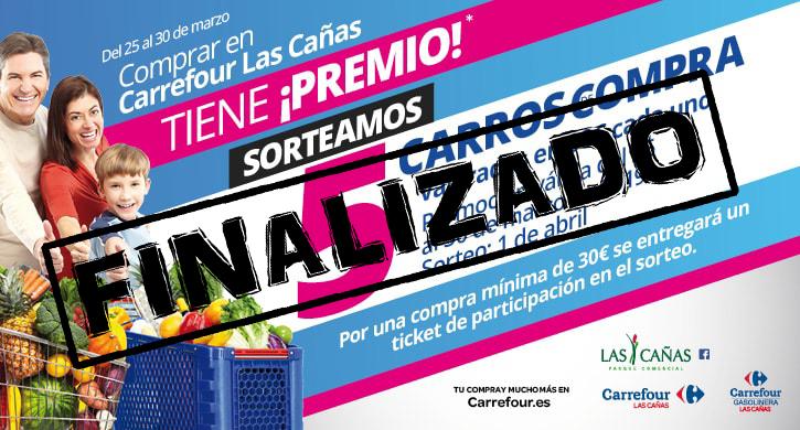 Del 25 al 30 de marzo, comprar en Carrefour Las Cañas tiene ¡premio!