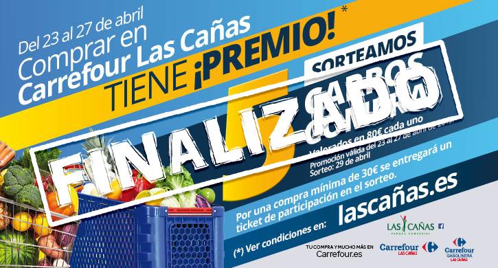 Del 23 al 27 de abril, comprar en Carrefour Las Cañas tiene ¡premio!