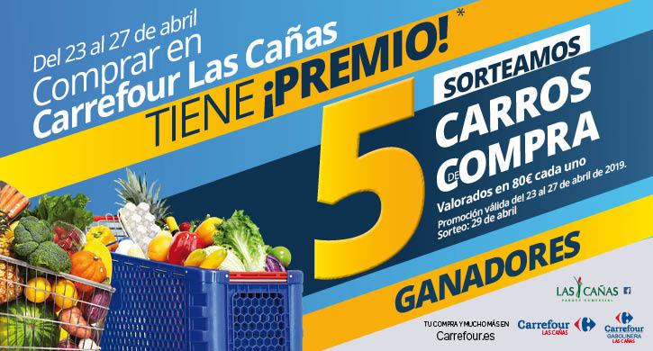 Ganadores Comprar en Carrefour Las Cañas tiene ¡premio!