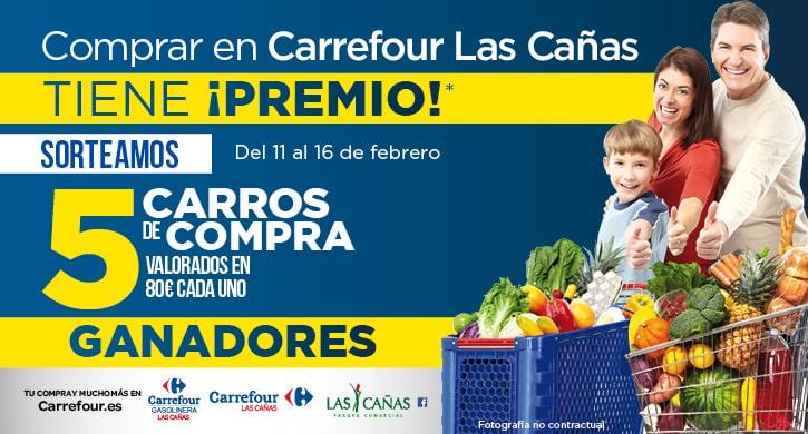 Ganadores Comprar en Carrefour Las Cañas tiene ¡premio! - febrero