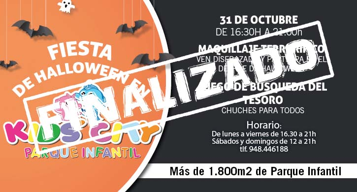 ¡Fiesta de Halloween en Kids City Las Cañas!