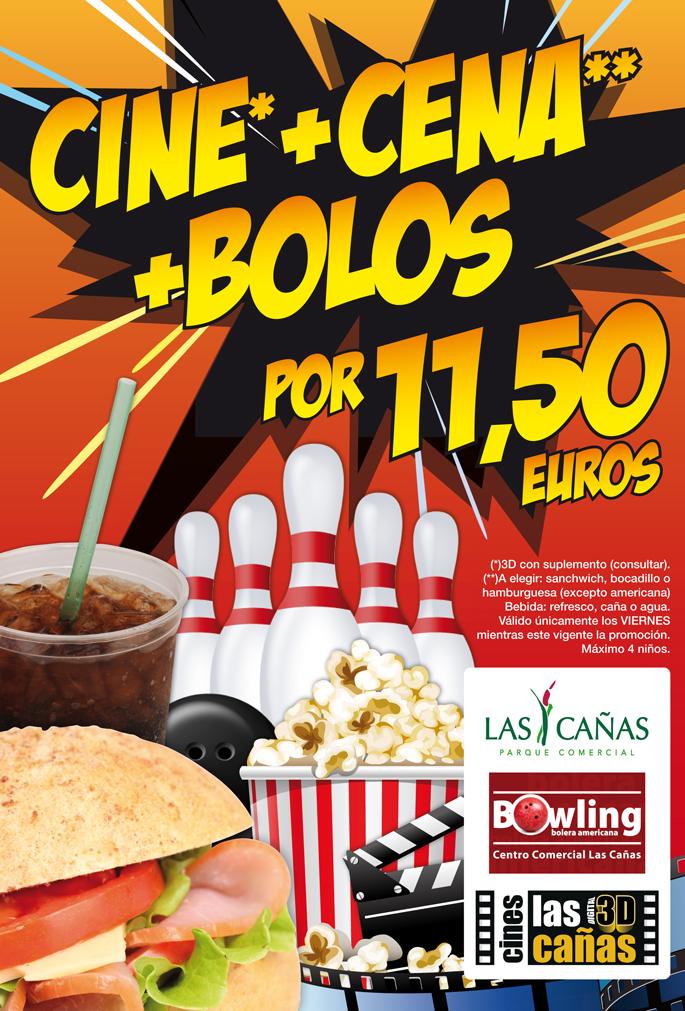Cine+cena+bolos