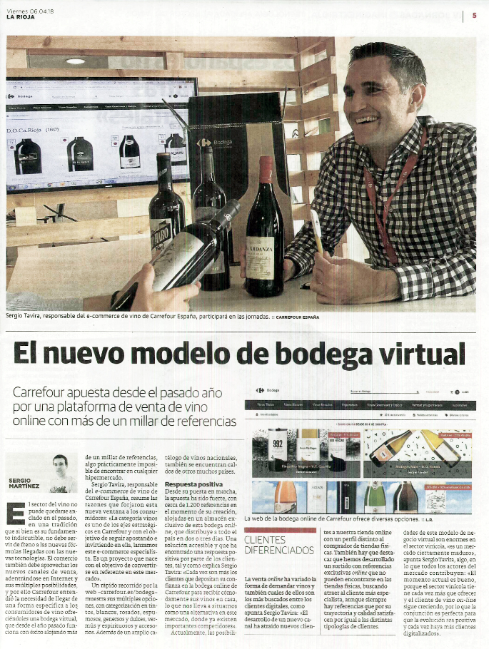Bodega virtual Carrefour