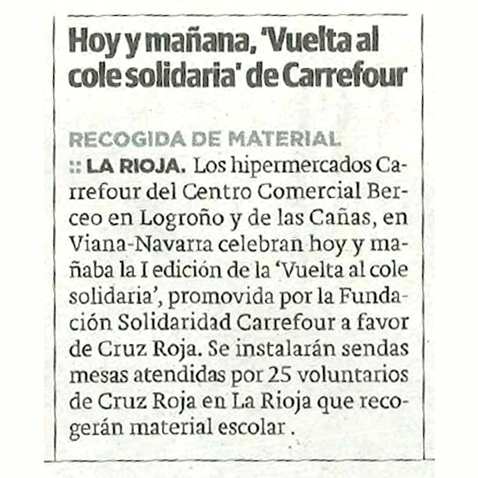 Vuelta al Cole Cabecera Noticia